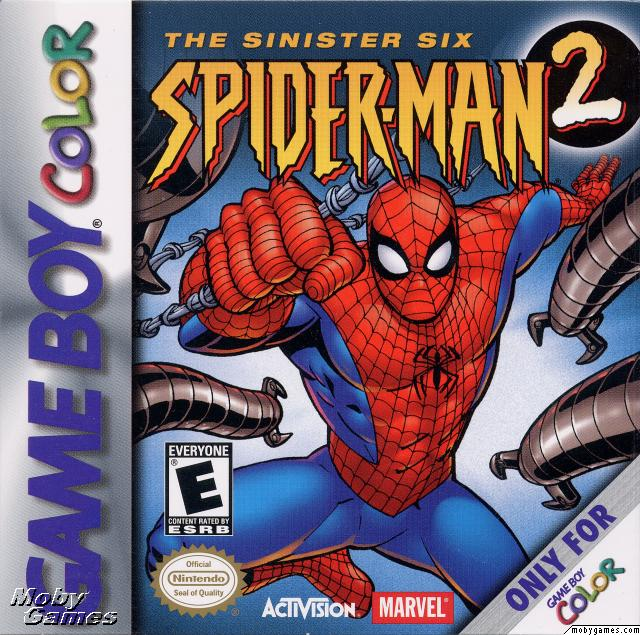 review spider man 2 the sinister six game boy color comic