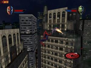 spider-man the movie swinging