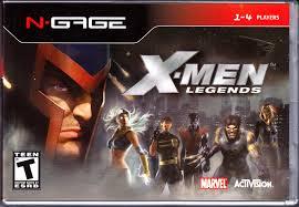 x-men legends n-gage