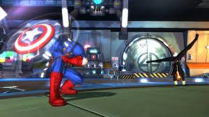 captain america battle for earth