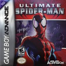 ultimate spider-man gba cover