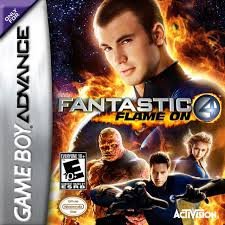 fantastic four flame on cover