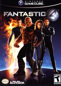 fantastic four gamecube cover