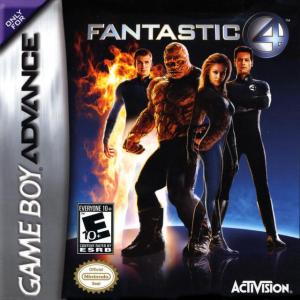 fantastic four gba cover