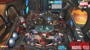 ant-man pinball screen shot