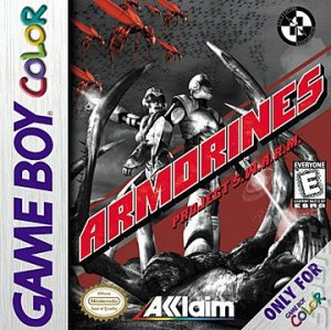 armorines gbc cover