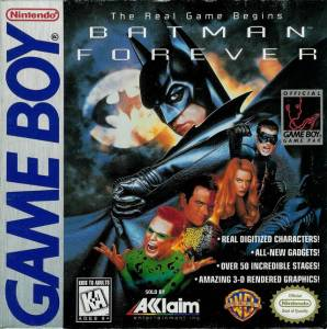 batman forever game boy