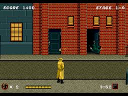 dick tracy background shooting