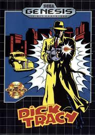 dick tracy sega genesis cover