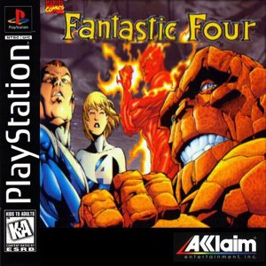 fantastic four psone cover
