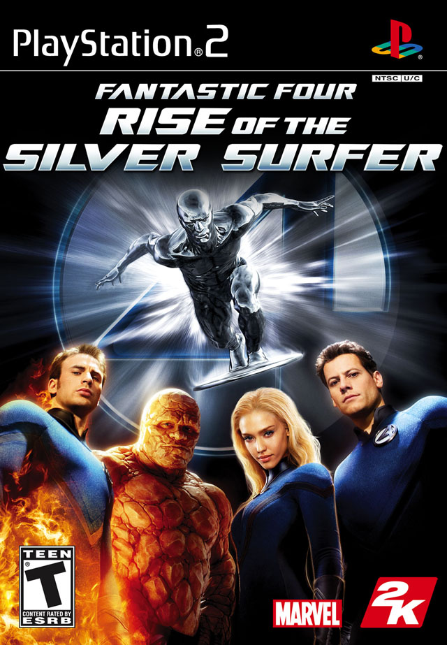 Review Fantastic Four Rise Of The Silver Surfer Ps2 Wii Comic Book Video Games
