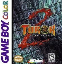 turok 2 game boy color cover