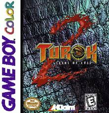 turok 2 game boy color cover
