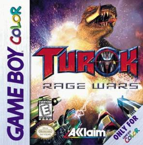 turok rage wars gbc cover
