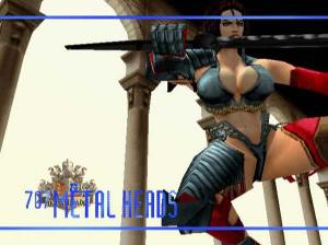heavy metal female character