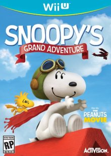 snoopy's grand adventure cover
