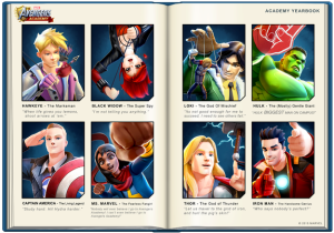 avengers academy year book