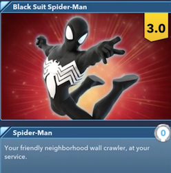 black suit spider-man infinity