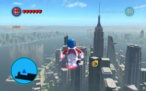 lego marvel flying