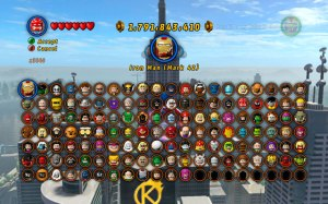 lego marvel roster