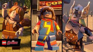 characters lego avengers