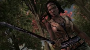walking dead michonne 1