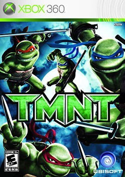 Tmnt At The Movies Week Part 1 Tmnt 2007 Xbox 360 Comic