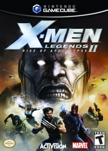 x-men legends 2 cover
