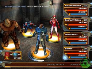 x-men legends 2 team