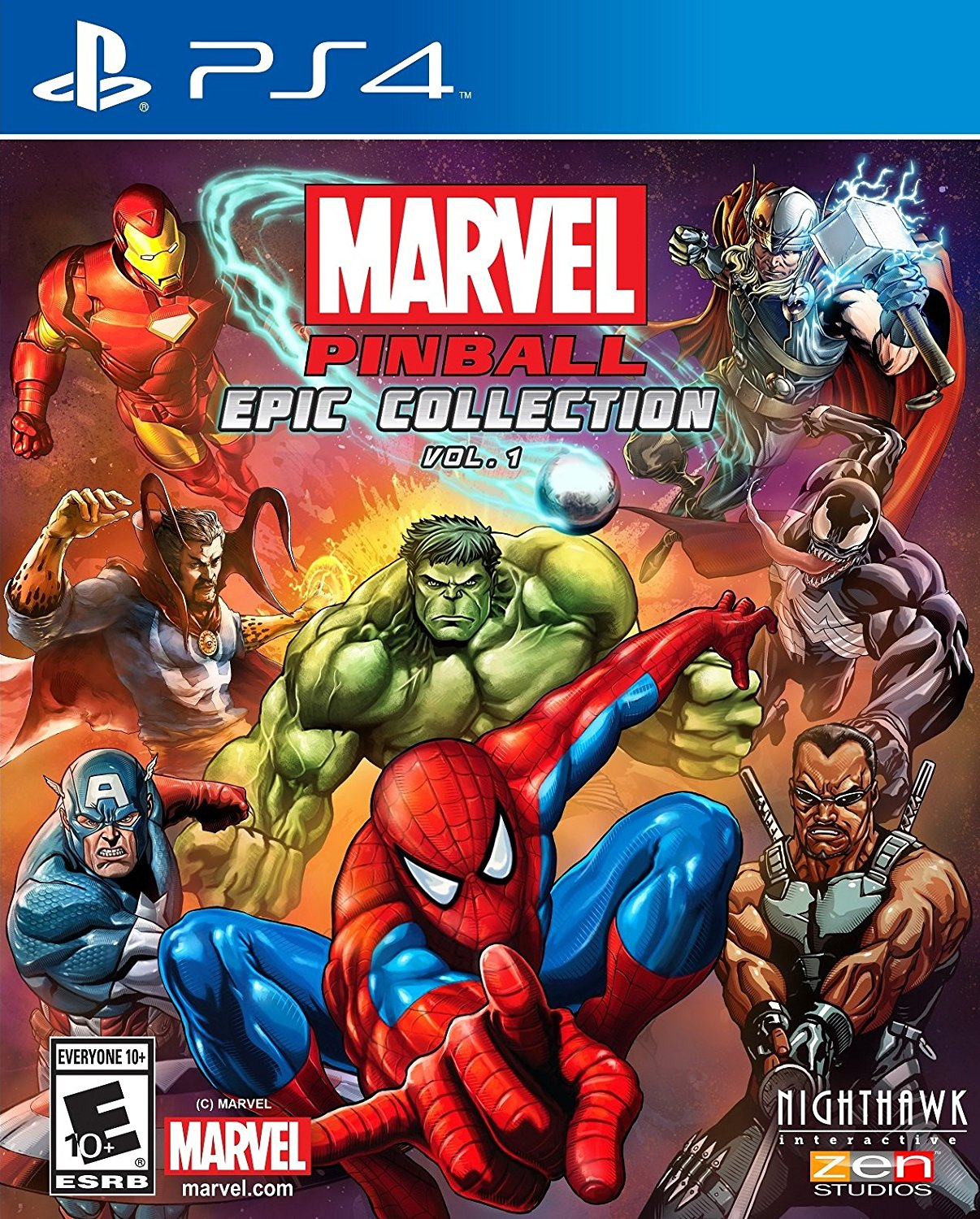 marvel pinball: epic collection volume 1 coming to ps4/xbox one
