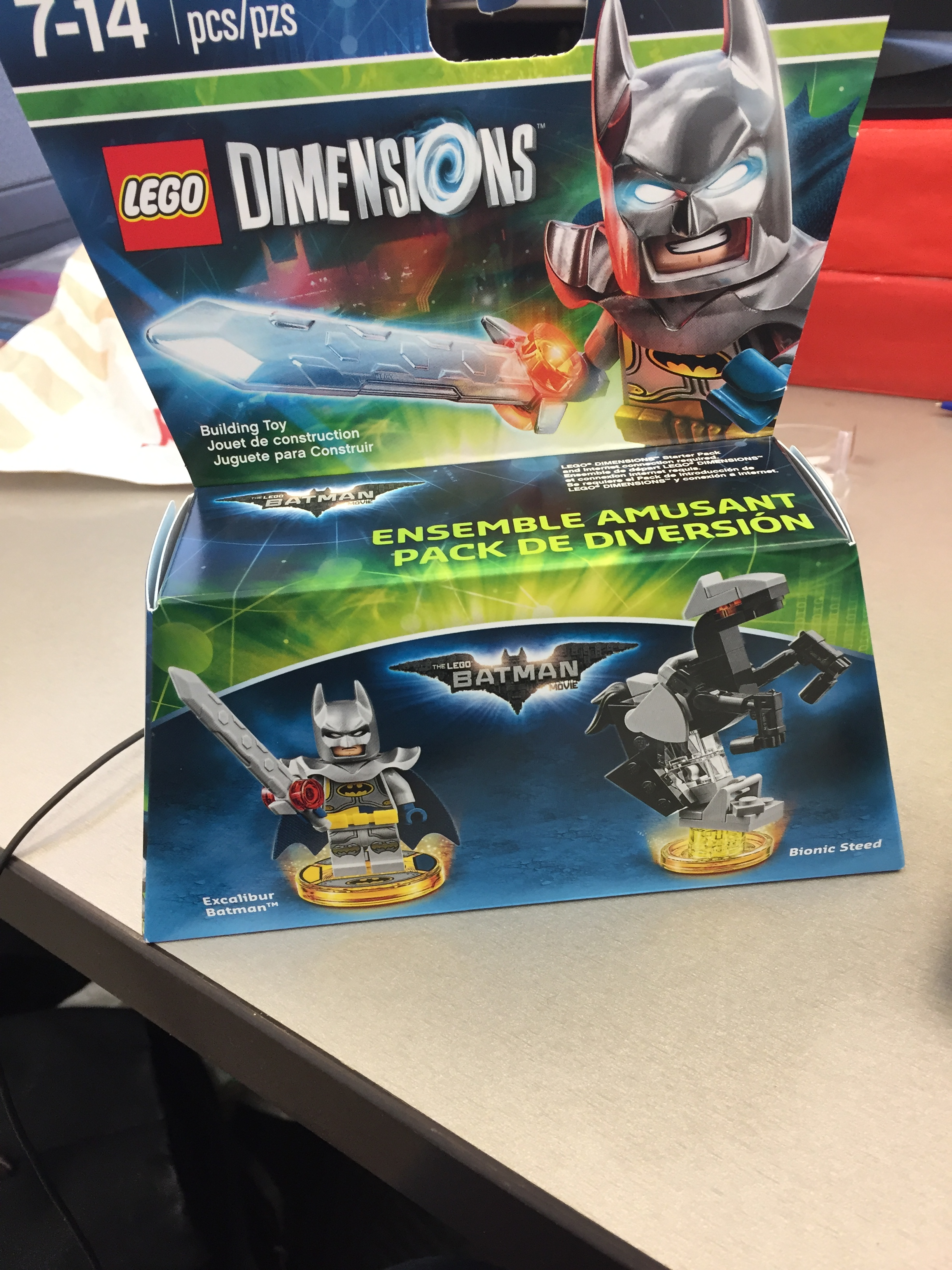 Lego The Dimensions Batman Excalibur For Available Movie DEIYWH29