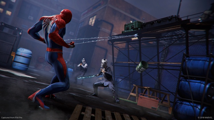spider-man environmental damage